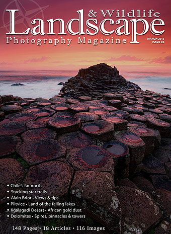 Current issue of Landscape Photography Magazine
